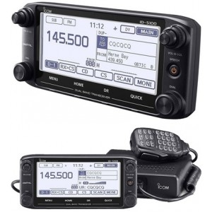 VHF/UHF digitalna mobilna radio-stanica ID-5100E