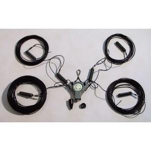 HF žičana multiband antena 3,5-7-10-14-18-21-24-28 MHz